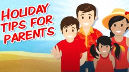 parents holiday hacks animation