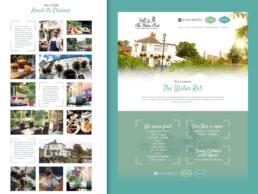 the water rat pub website design