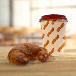 Croissant and Coffee 3D