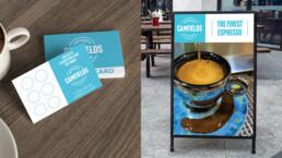 Coffee Shop Print Design